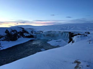 Iceland--it's amazing how beautiful snow and ice can be. Photo credit to Catharine Slusar.