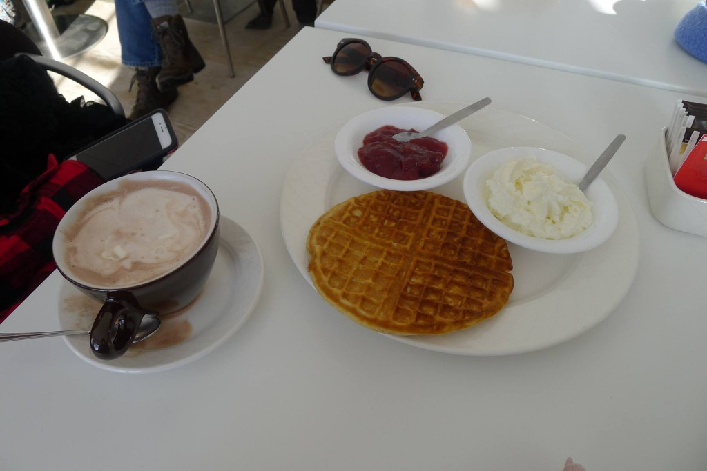 Icelandic Waffled on Videy Island