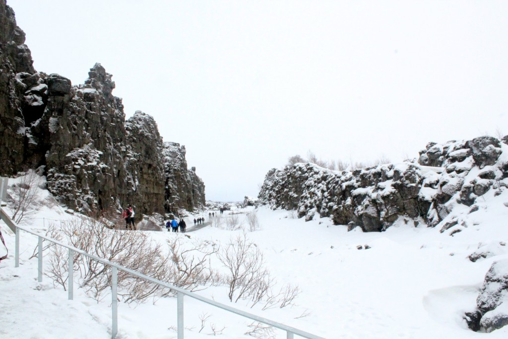 Thingvellir National Park Continental Divide 1